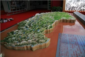 山体地形模型制作