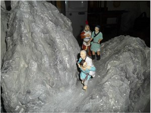 雕塑场景模型