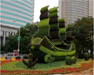 广场绿雕景观制作
