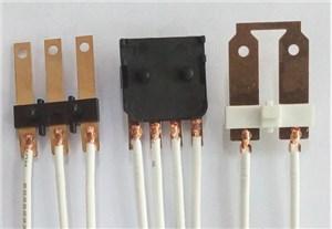 继电器端子与多股线束焊接 中频逆变直流点焊机