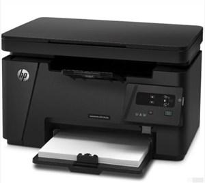 hp惠普m126a/m1136打印机黑白激光多功能一体机商用办公打印复印机扫描三合一无线家用学生A4作业A5财务126n